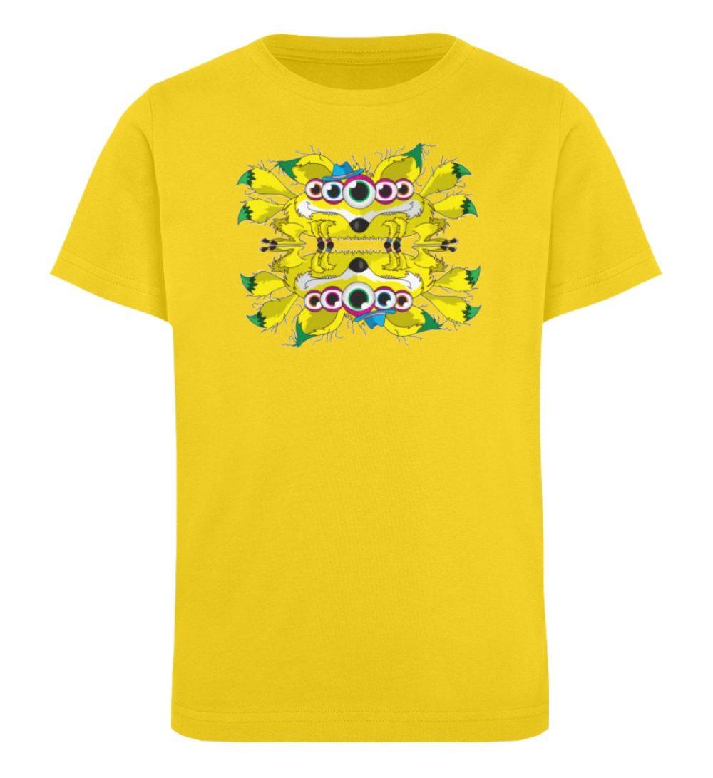 berlin-monster-art-shirt-kids-fox - Kinder Organic T-Shirt-6905