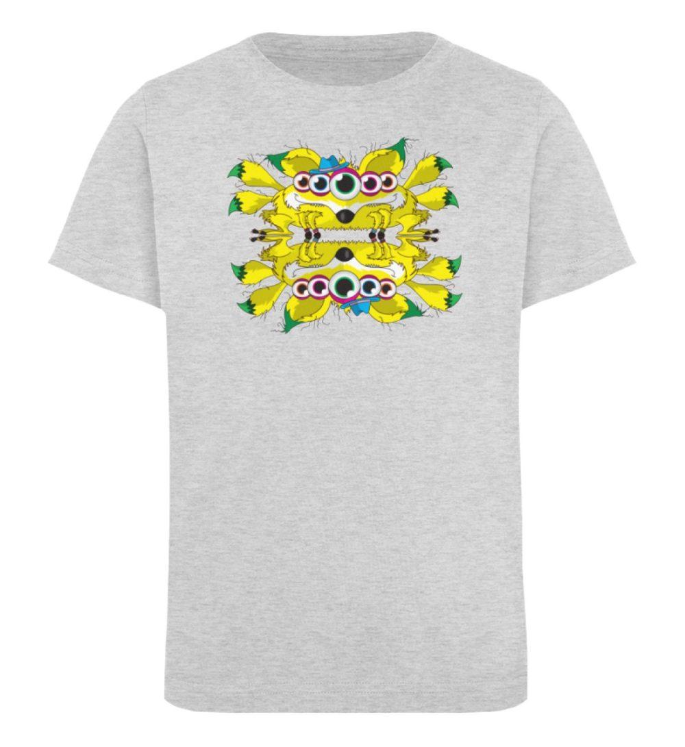 berlin-monster-art-shirt-kids-fox - Kinder Organic T-Shirt-6892
