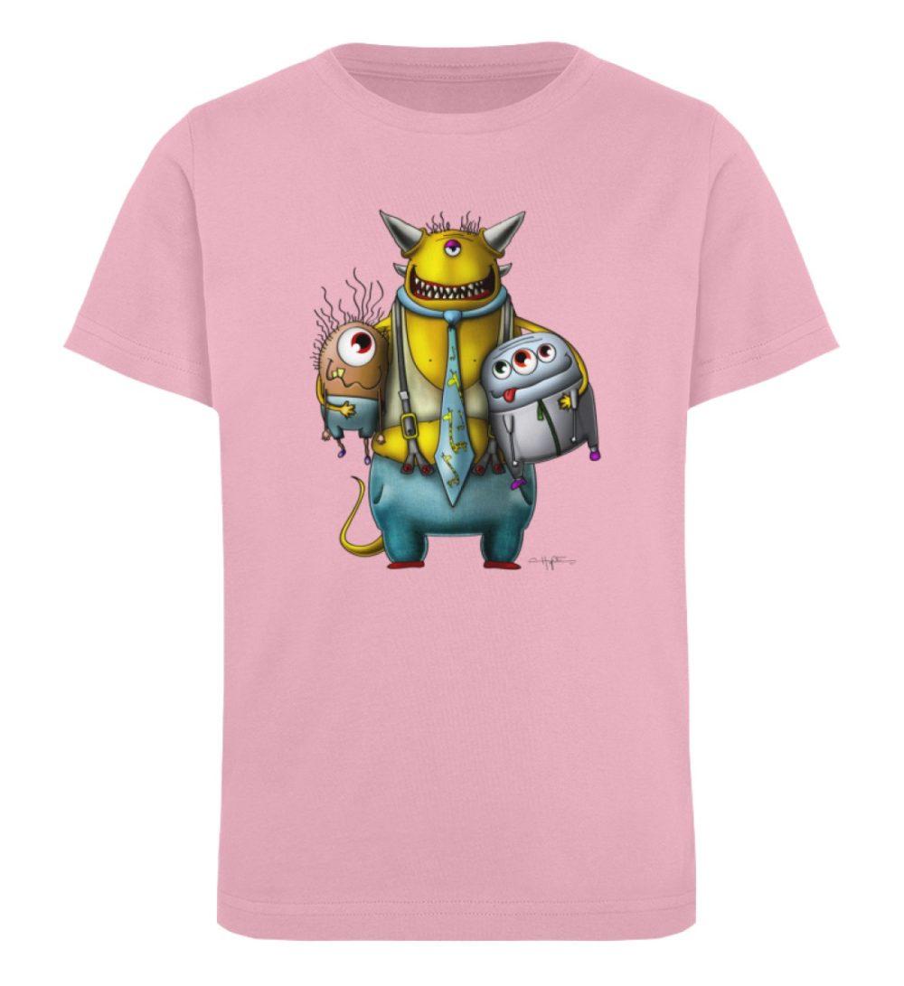 berlin-monster-art-shirt-kids-nice-devil - Kinder Organic T-Shirt-6903