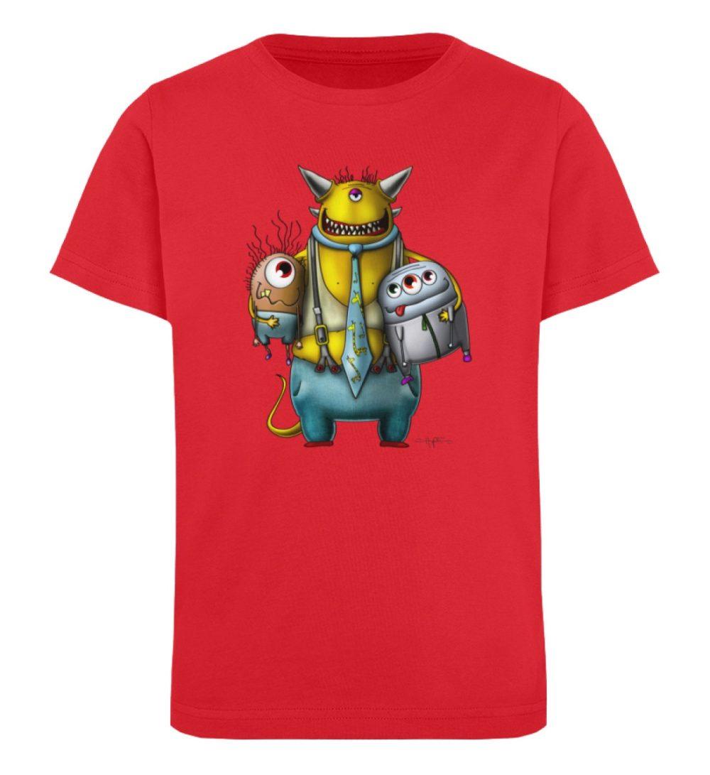 berlin-monster-art-shirt-kids-nice-devil - Kinder Organic T-Shirt-6882