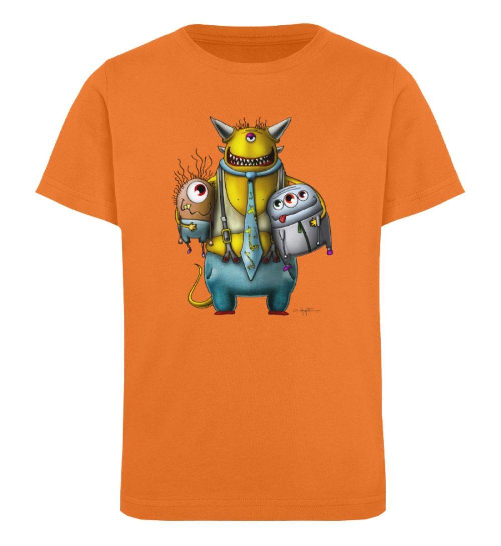 berlin-monster-art-shirt-kids-nice-devil - Kinder Organic T-Shirt-6902