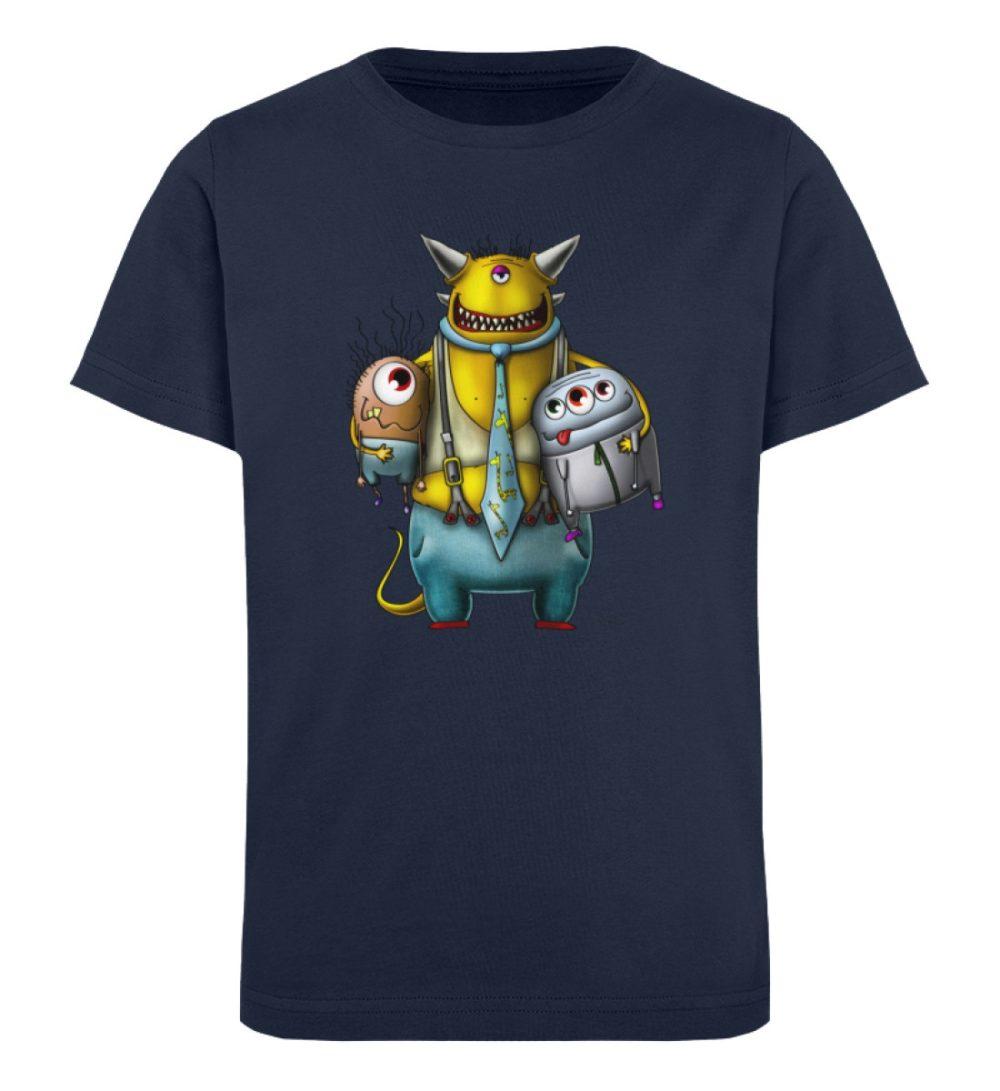 berlin-monster-art-shirt-kids-nice-devil - Kinder Organic T-Shirt-6887