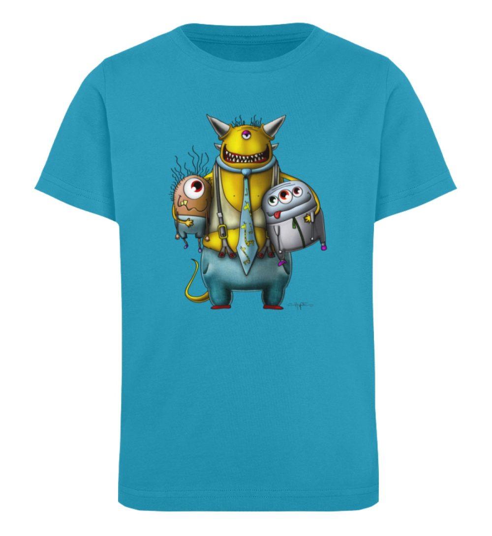 berlin-monster-art-shirt-kids-nice-devil - Kinder Organic T-Shirt-6885