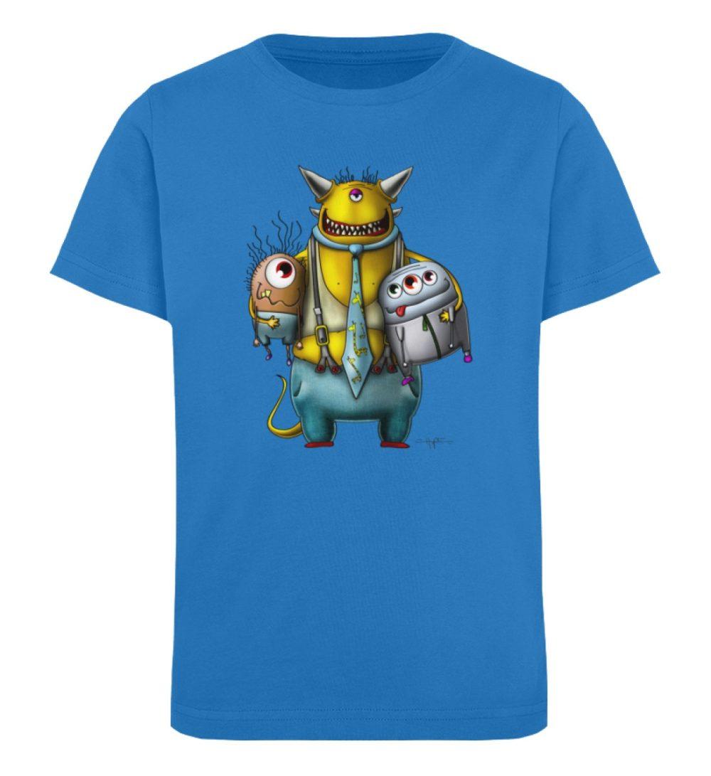 berlin-monster-art-shirt-kids-nice-devil - Kinder Organic T-Shirt-6886