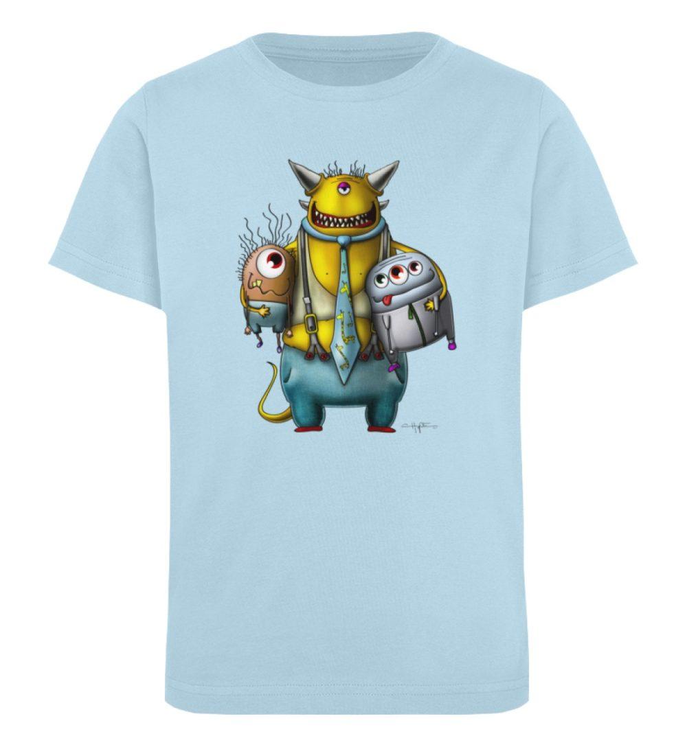 berlin-monster-art-shirt-kids-nice-devil - Kinder Organic T-Shirt-6888