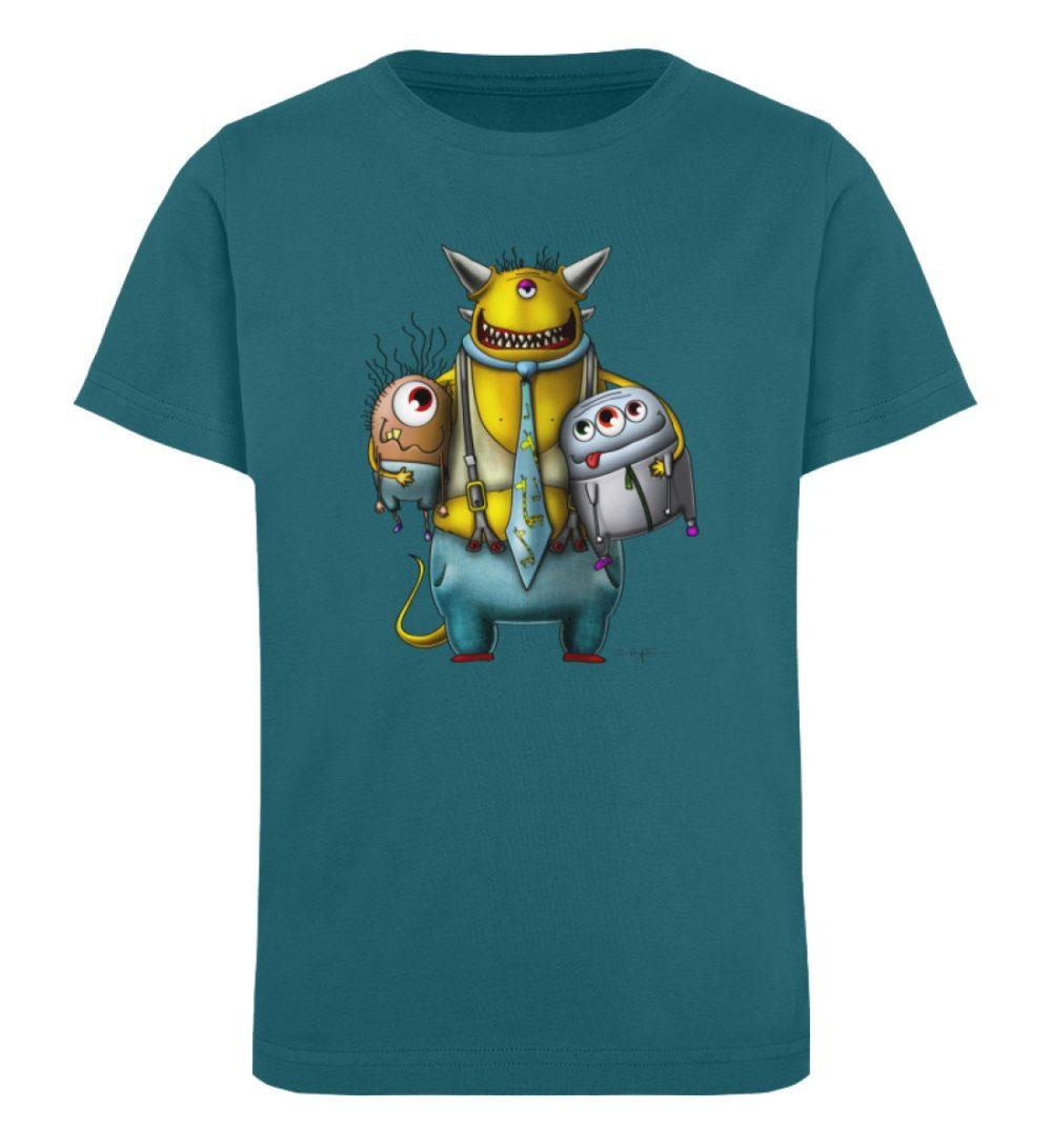berlin-monster-art-shirt-kids-nice-devil - Kinder Organic T-Shirt-6889