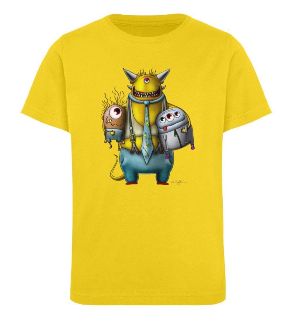 berlin-monster-art-shirt-kids-nice-devil - Kinder Organic T-Shirt-6905