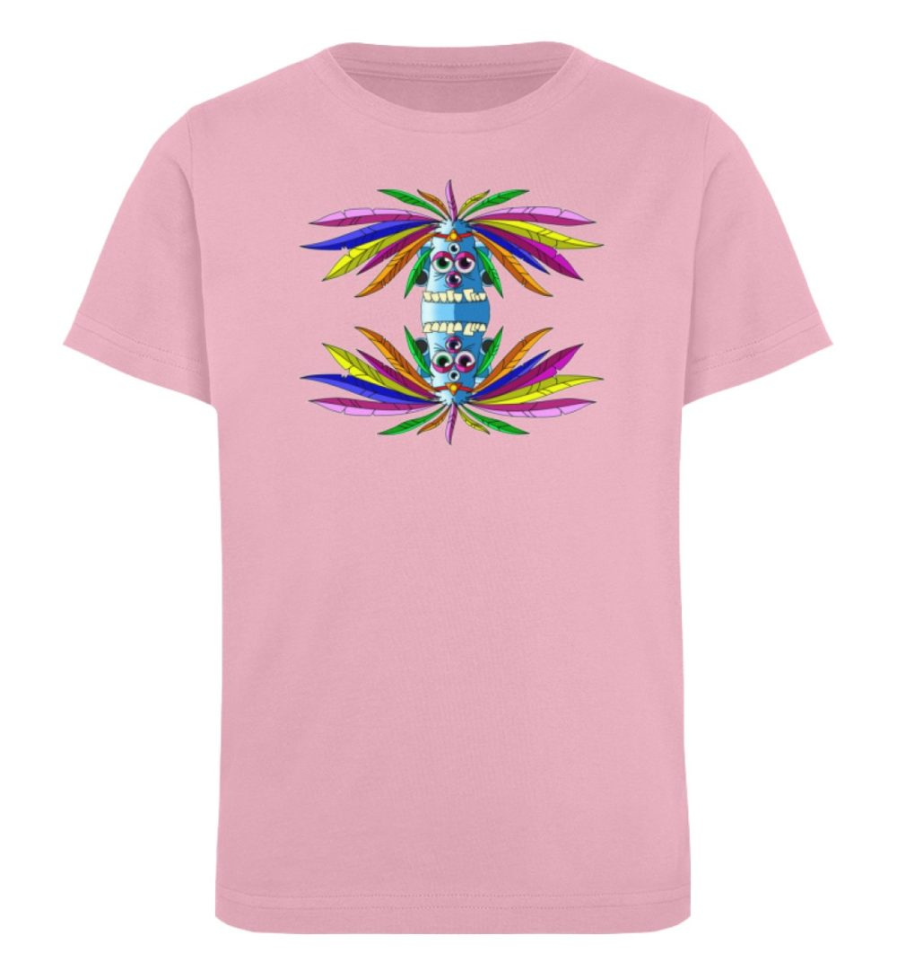 berlin-monster-art-shirt-kids-manolo - Kinder Organic T-Shirt-6903