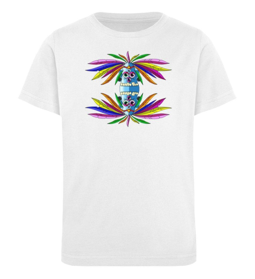 berlin-monster-art-shirt-kids-manolo - Kinder Organic T-Shirt-3