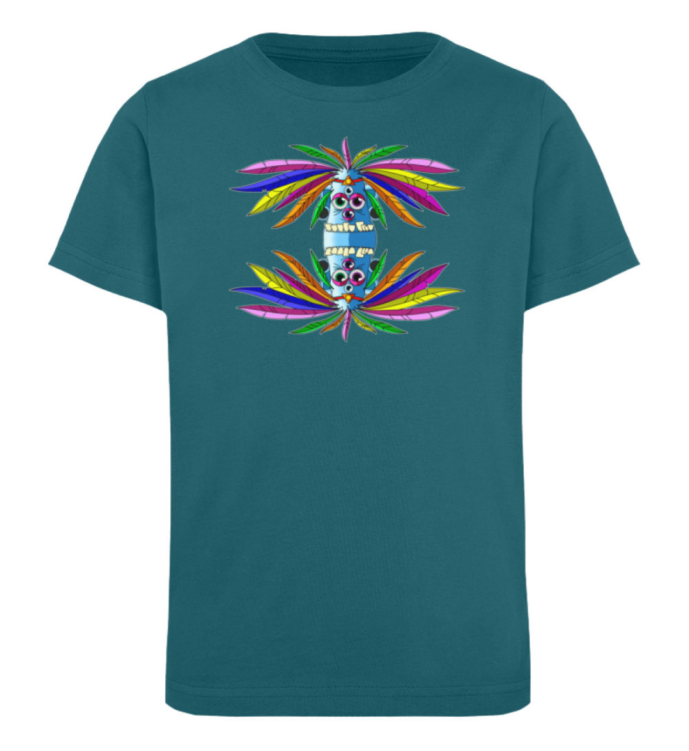 berlin-monster-art-shirt-kids-manolo - Kinder Organic T-Shirt-6889