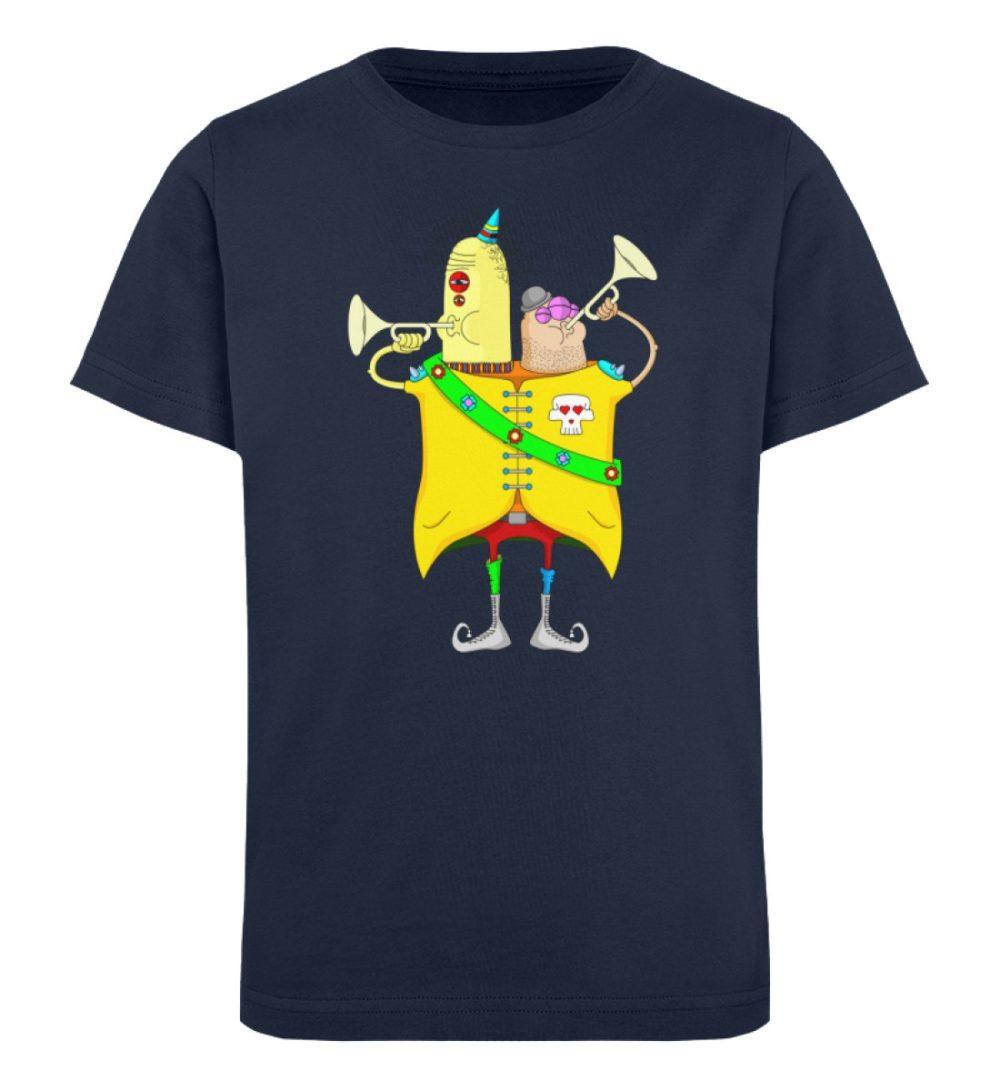 berlin-monster-art-shirt-kids-trompeter - Kinder Organic T-Shirt-6887