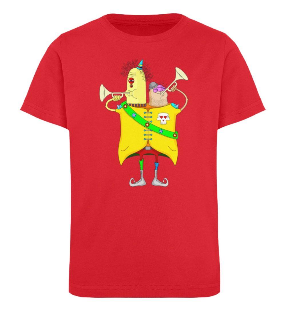 berlin-monster-art-shirt-kids-trompeter - Kinder Organic T-Shirt-6882