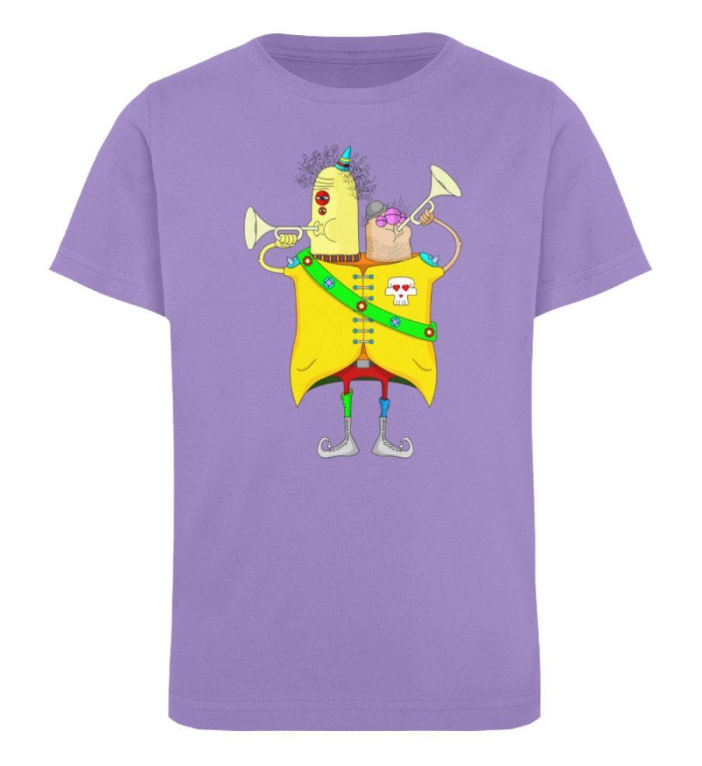 berlin-monster-art-shirt-kids-trompeter - Kinder Organic T-Shirt-6904
