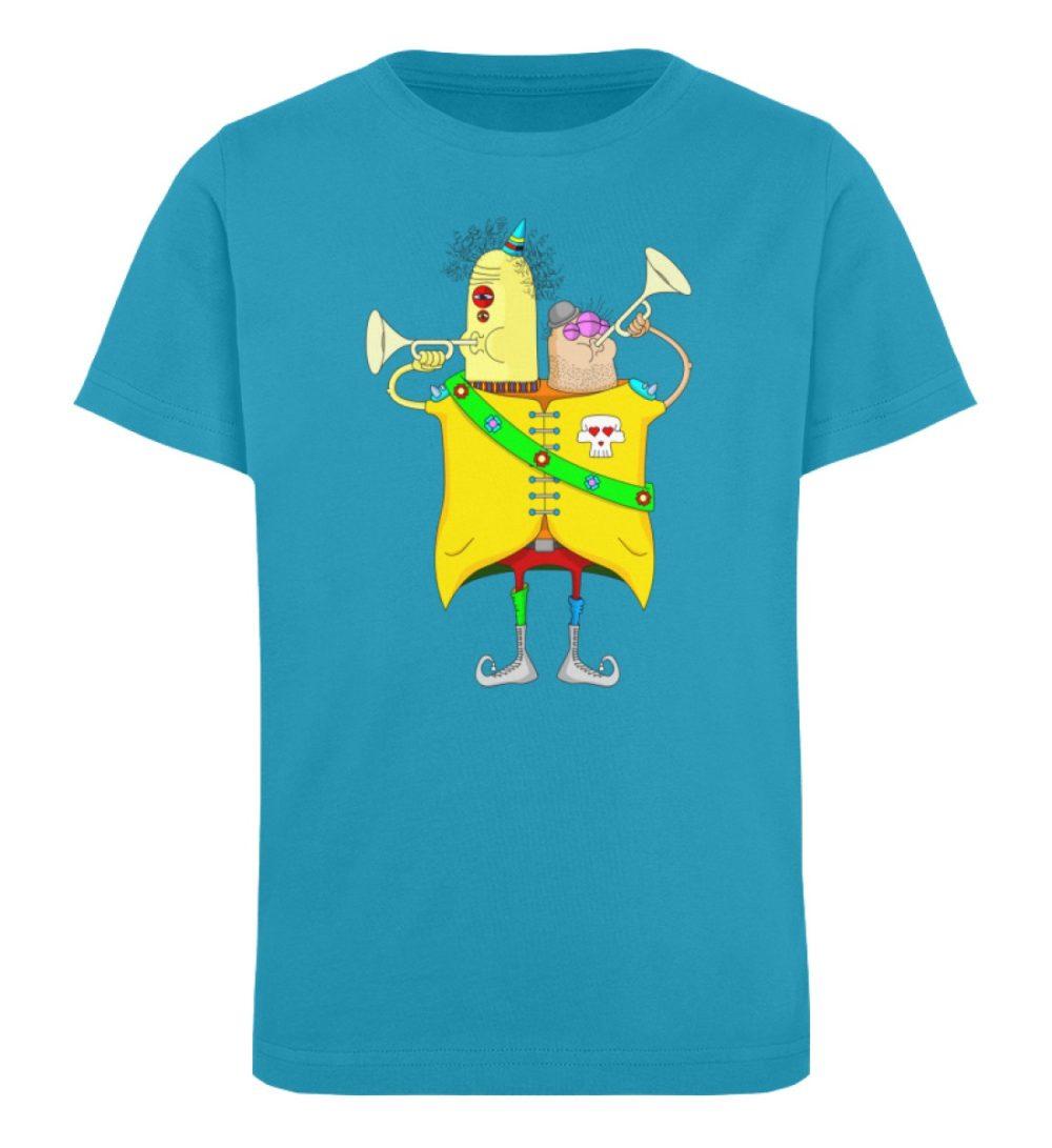 berlin-monster-art-shirt-kids-trompeter - Kinder Organic T-Shirt-6885