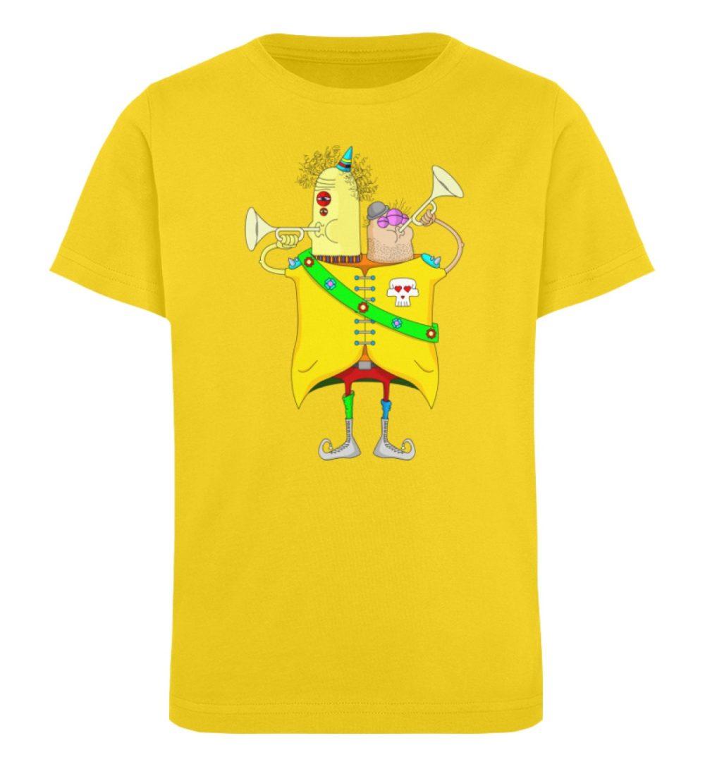 berlin-monster-art-shirt-kids-trompeter - Kinder Organic T-Shirt-6905