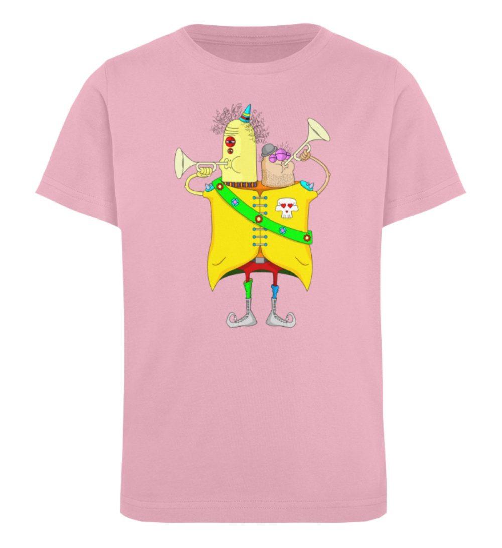 berlin-monster-art-shirt-kids-trompeter - Kinder Organic T-Shirt-6903