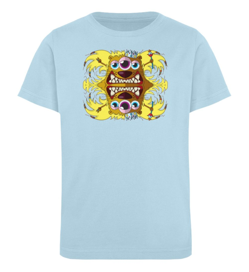 berlin-monster-art-shirt-kids-leonard - Kinder Organic T-Shirt-6888