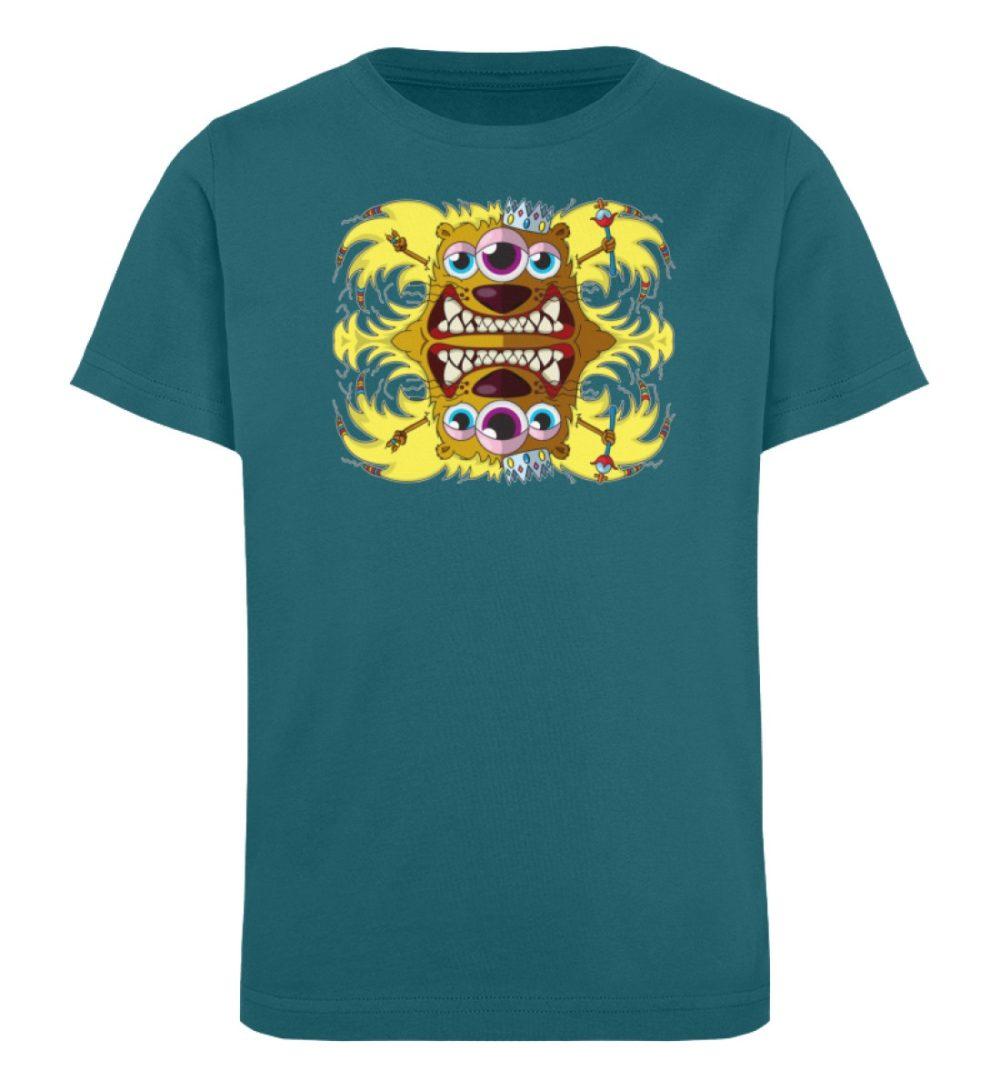 berlin-monster-art-shirt-kids-leonard - Kinder Organic T-Shirt-6889