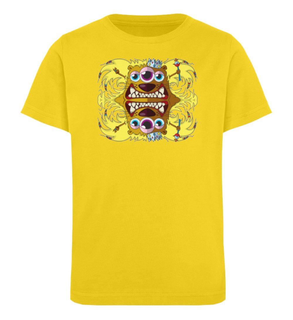 berlin-monster-art-shirt-kids-leonard - Kinder Organic T-Shirt-6905