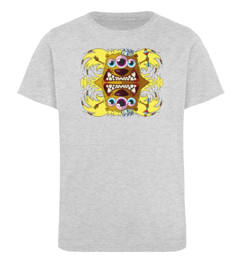 berlin-monster-art-shirt-kids-leonard - Kinder Organic T-Shirt-6892