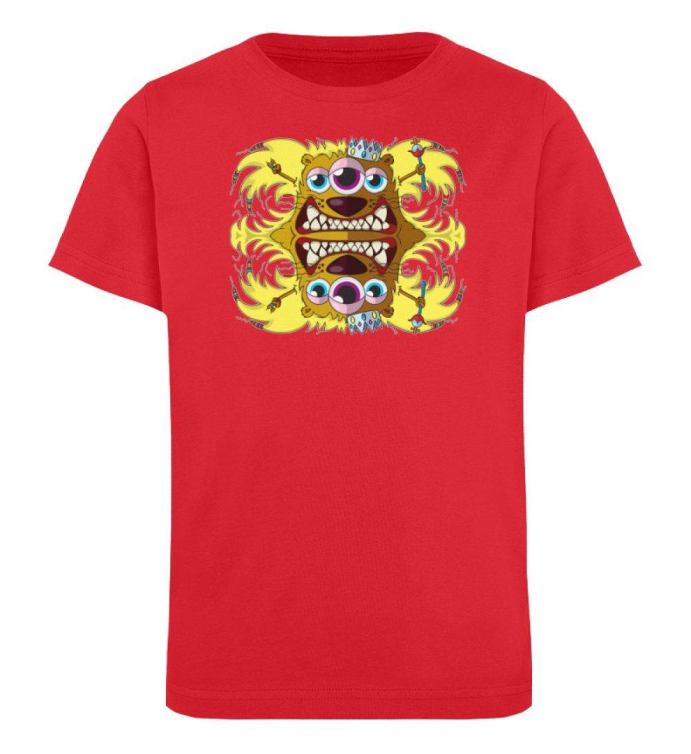 berlin-monster-art-shirt-kids-leonard - Kinder Organic T-Shirt-6882