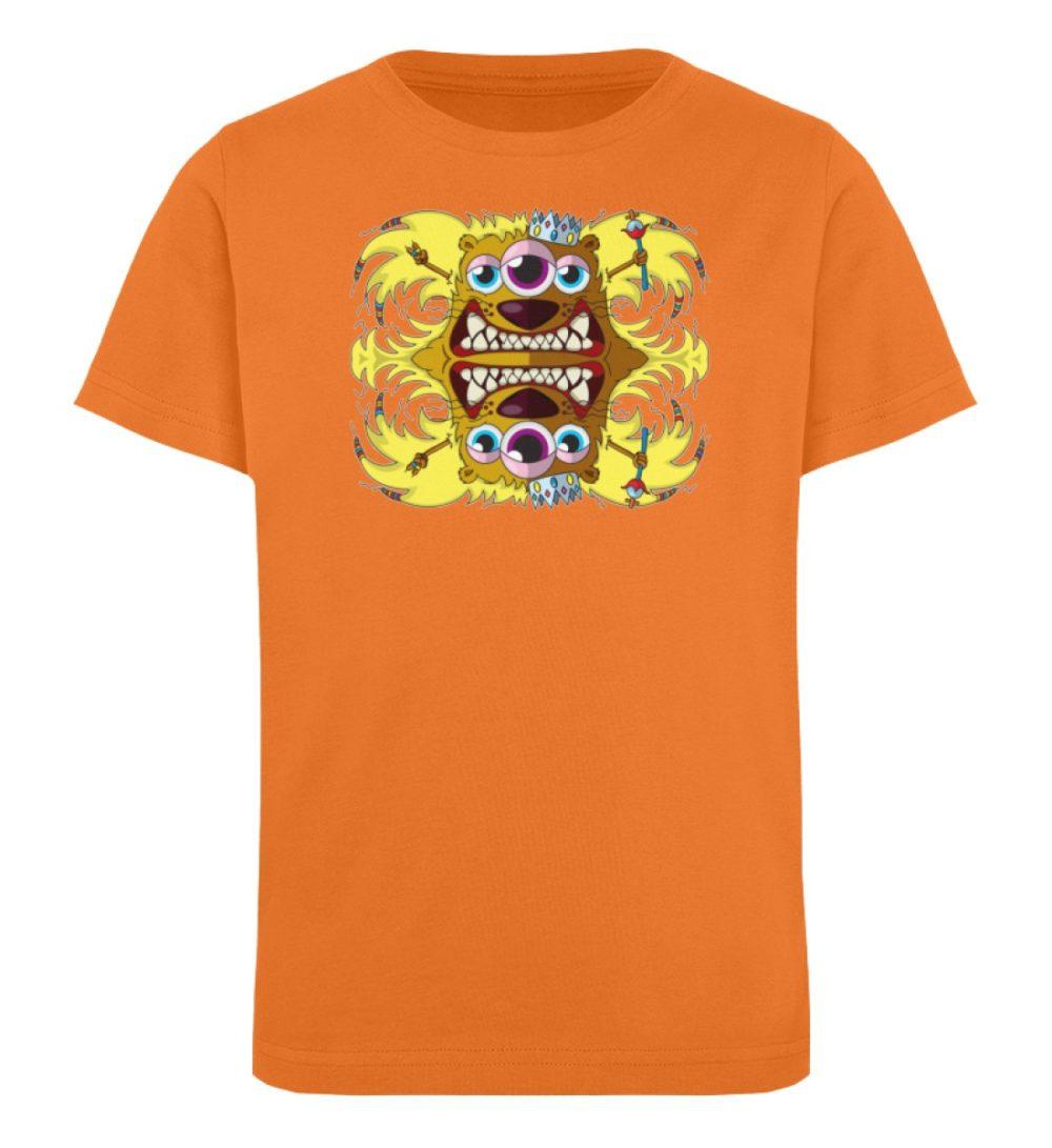 berlin-monster-art-shirt-kids-leonard - Kinder Organic T-Shirt-6902