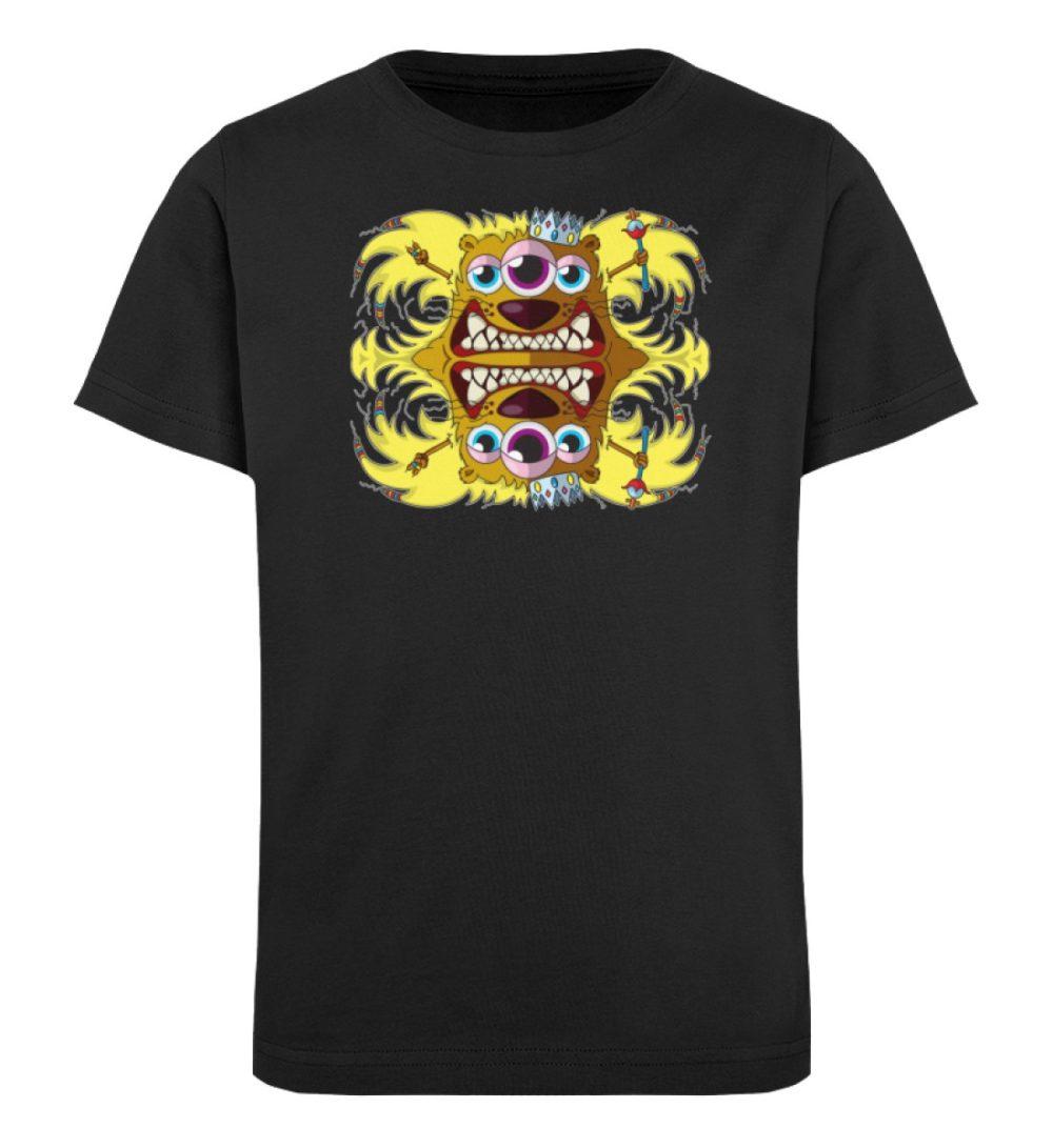 berlin-monster-art-shirt-kids-leonard - Kinder Organic T-Shirt-16