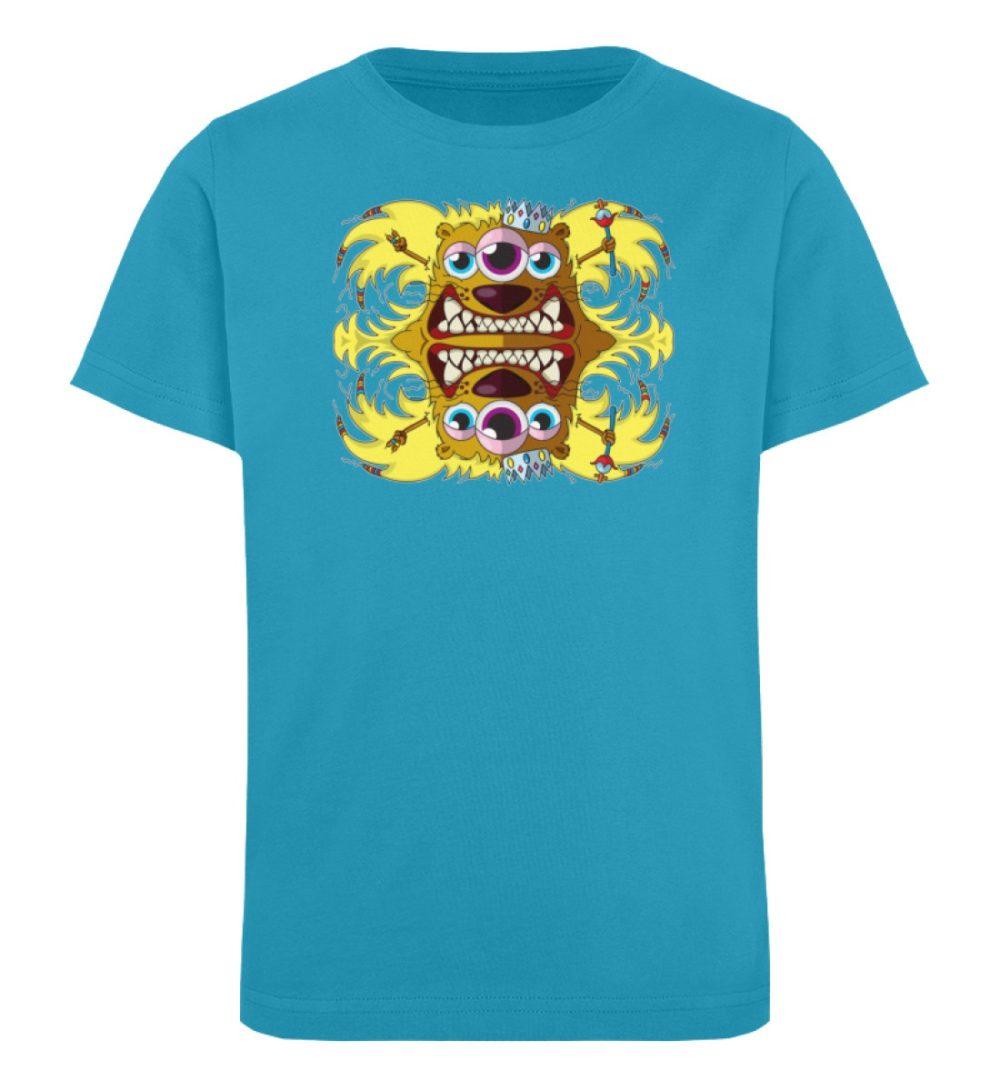 berlin-monster-art-shirt-kids-leonard - Kinder Organic T-Shirt-6885