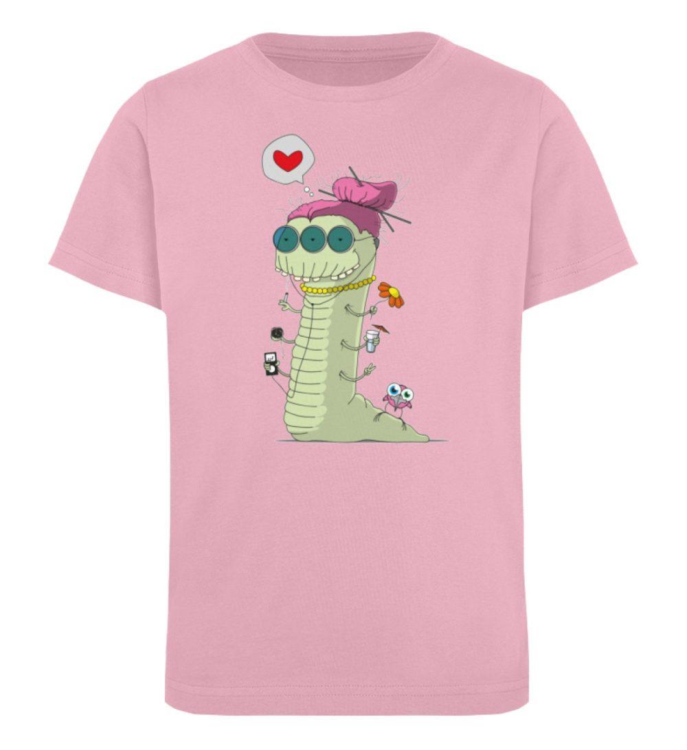 berlin-monster-art-shirt-kids-old-wurm - Kinder Organic T-Shirt-6903