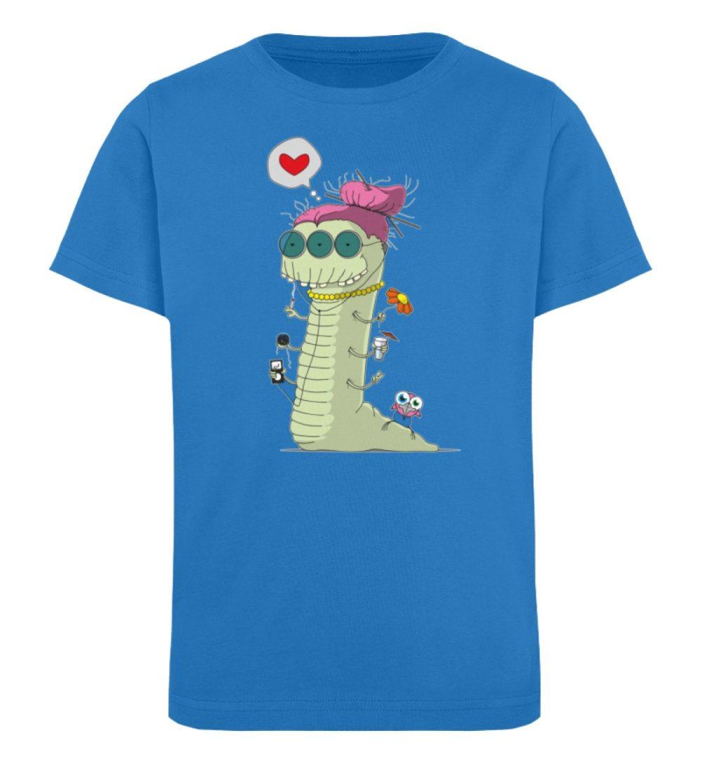 berlin-monster-art-shirt-kids-old-wurm - Kinder Organic T-Shirt-6886