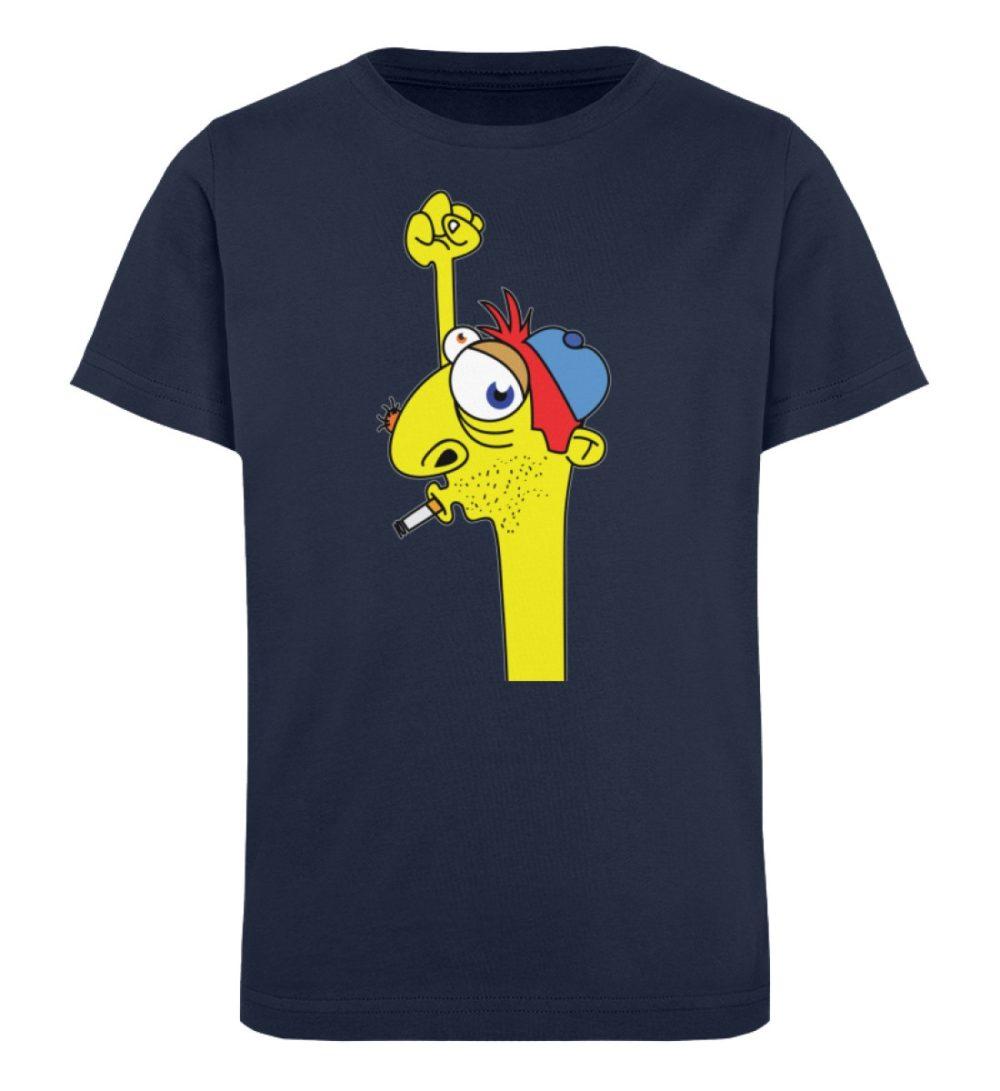 berlin-monster-art-shirt-kids-hands-up - Kinder Organic T-Shirt-6887