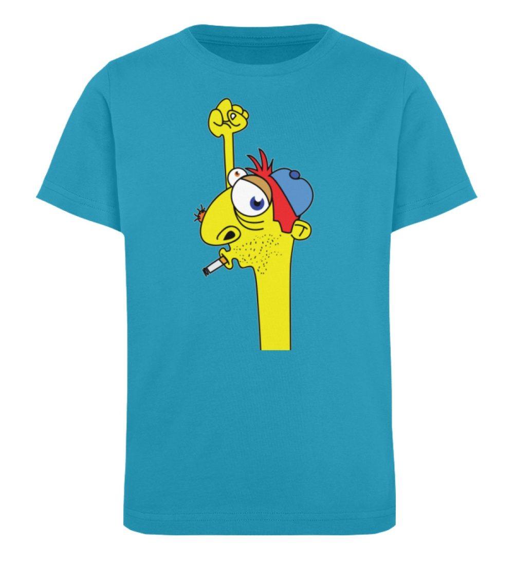 berlin-monster-art-shirt-kids-hands-up - Kinder Organic T-Shirt-6885