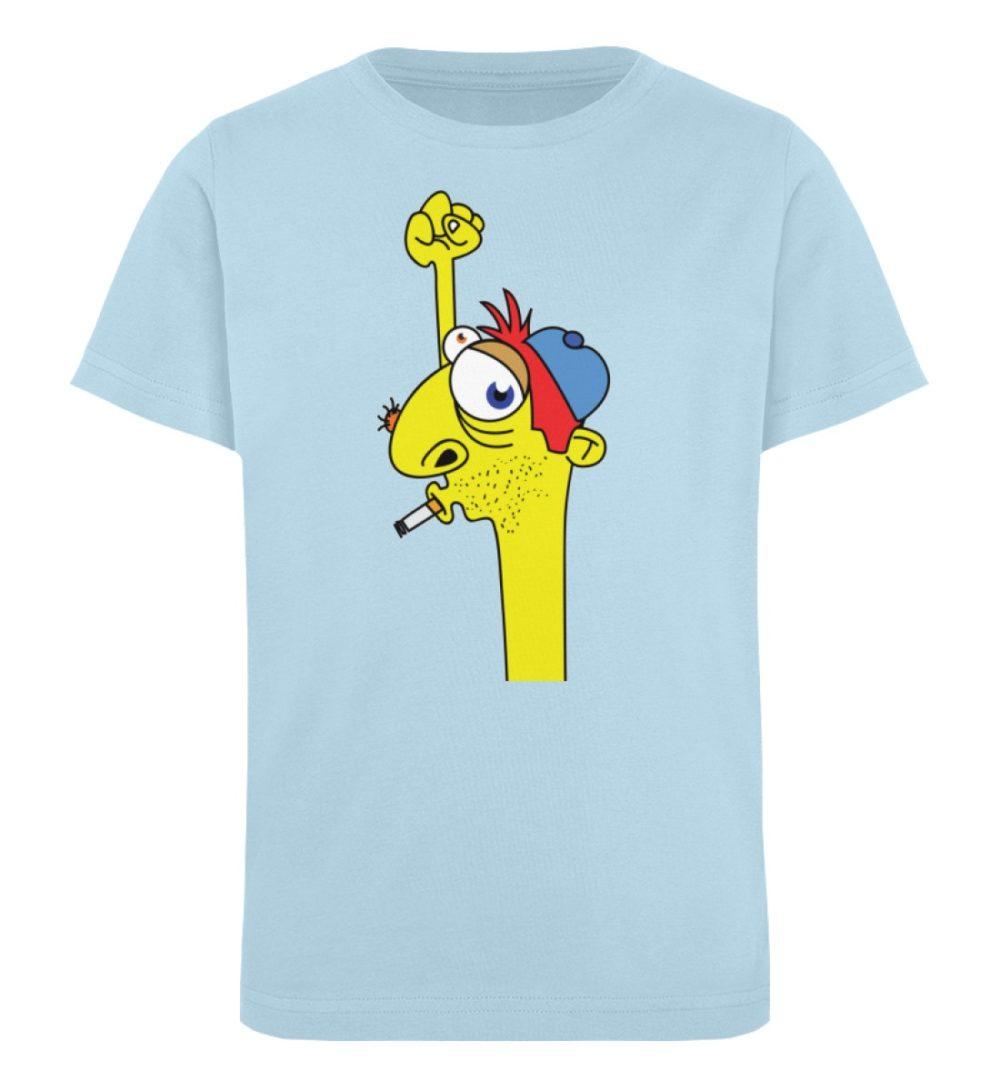 berlin-monster-art-shirt-kids-hands-up - Kinder Organic T-Shirt-6888