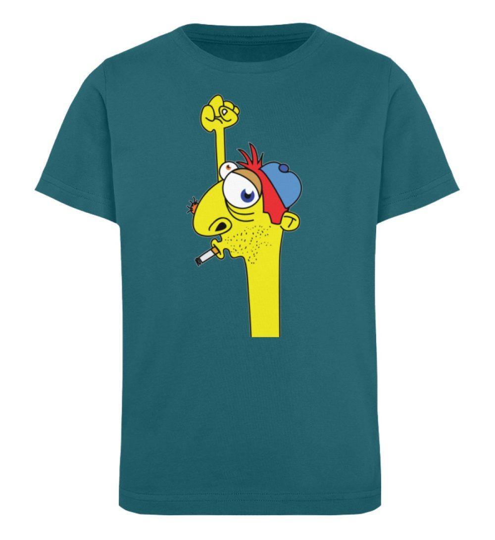 berlin-monster-art-shirt-kids-hands-up - Kinder Organic T-Shirt-6889