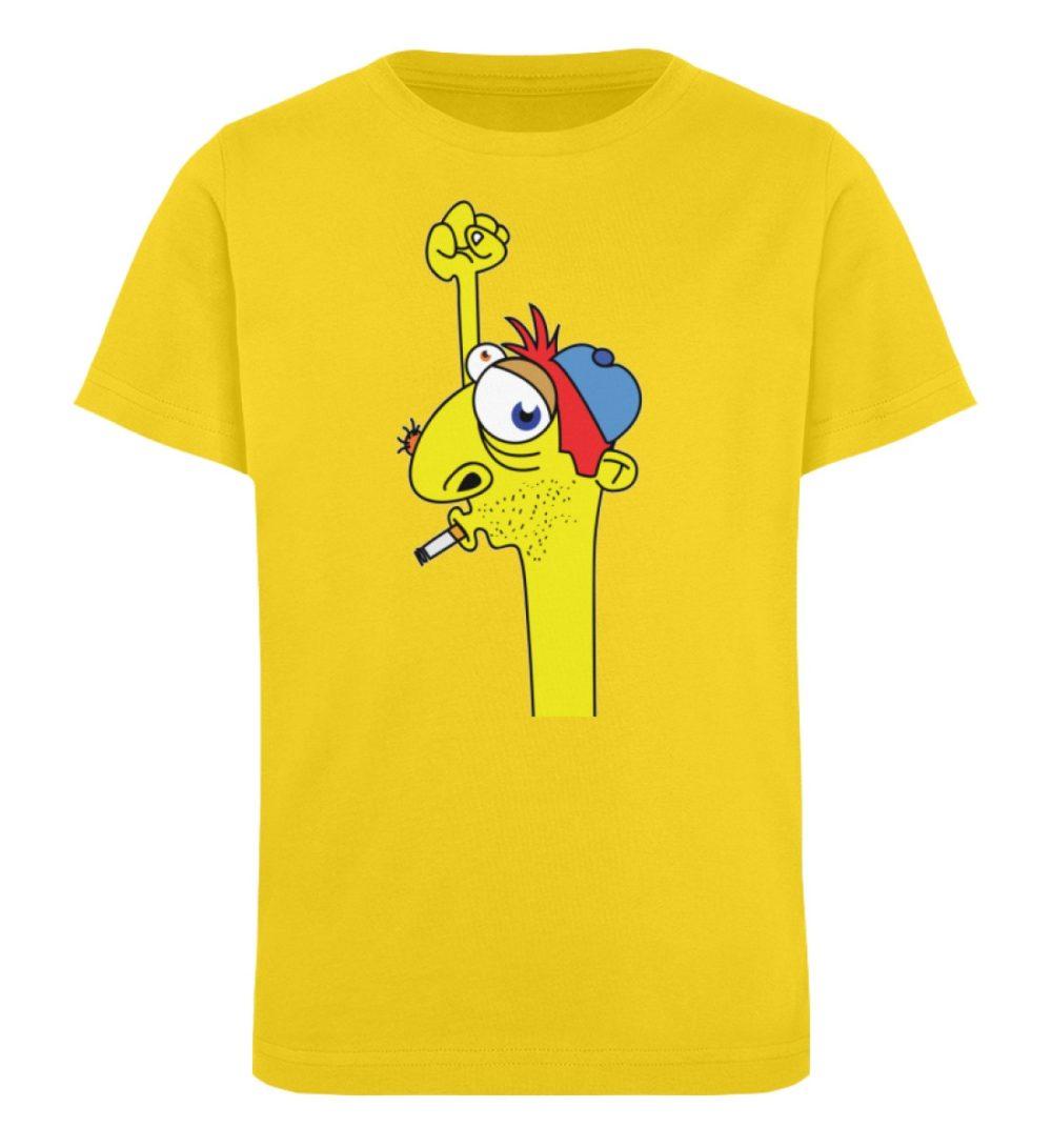 berlin-monster-art-shirt-kids-hands-up - Kinder Organic T-Shirt-6905