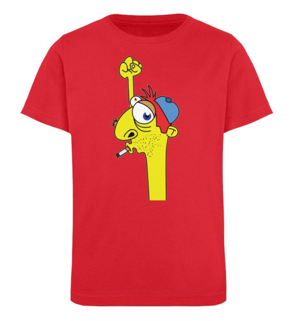 berlin-monster-art-shirt-kids-hands-up - Kinder Organic T-Shirt-6882
