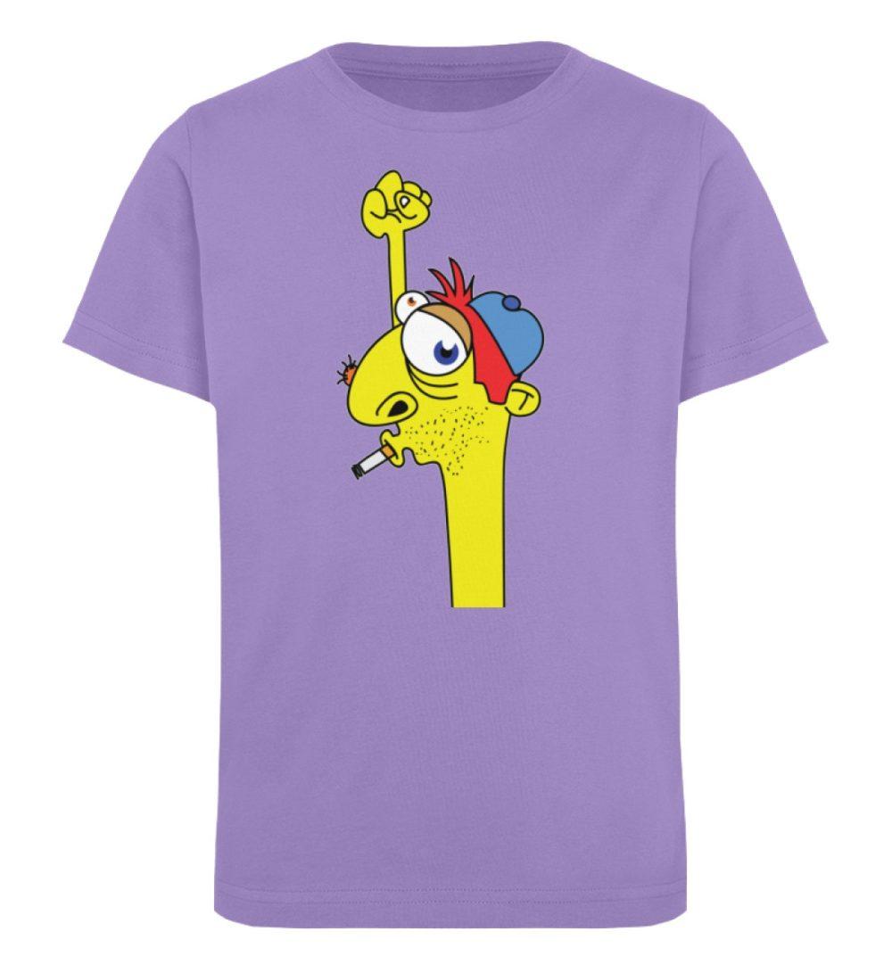 berlin-monster-art-shirt-kids-hands-up - Kinder Organic T-Shirt-6904