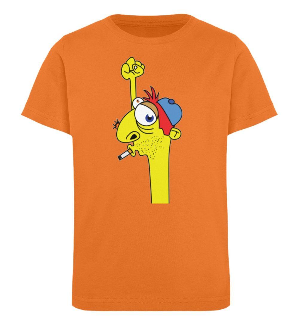 berlin-monster-art-shirt-kids-hands-up - Kinder Organic T-Shirt-6902