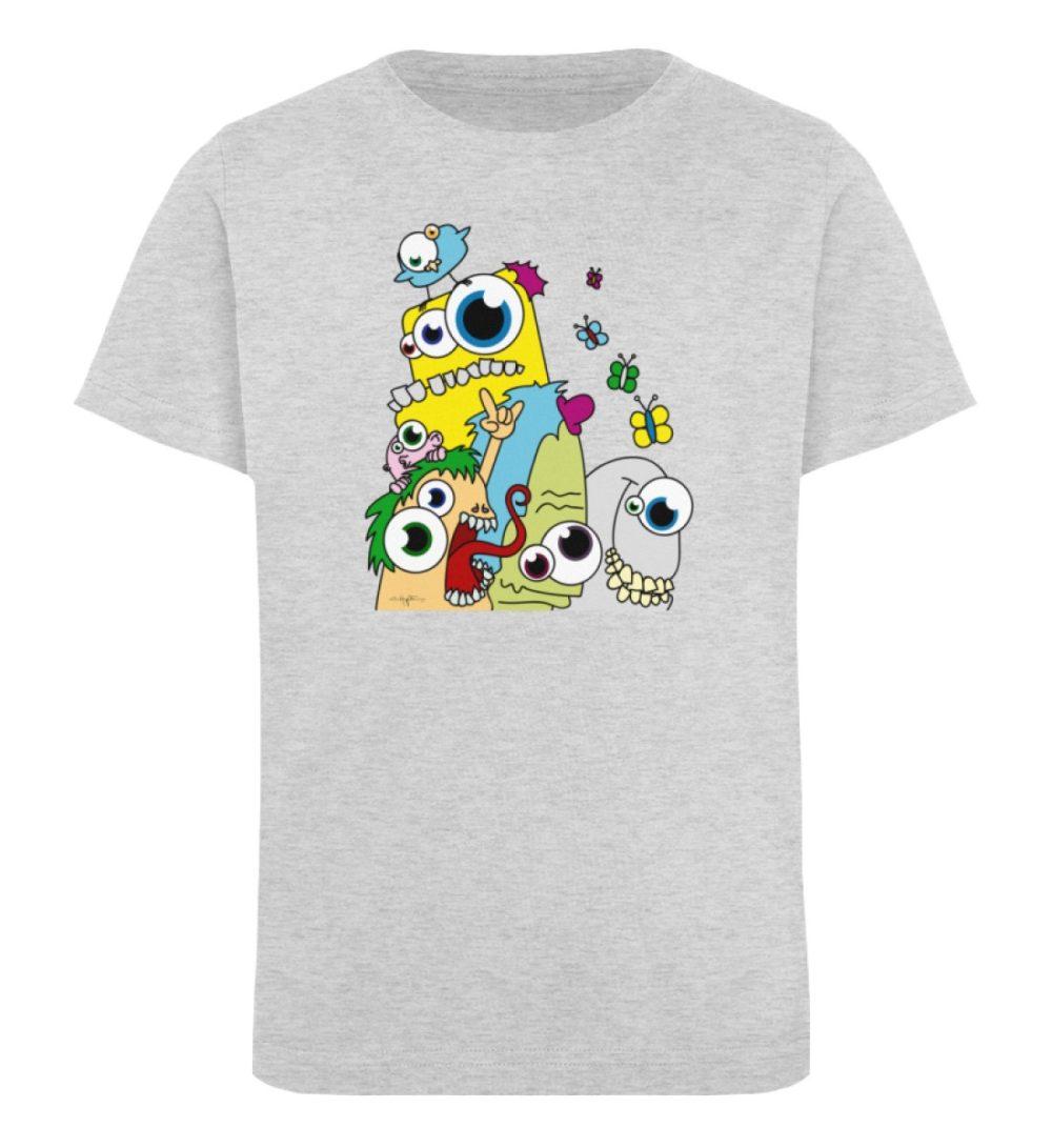 berlin-monster-art-shirt-kids-popart - Kinder Organic T-Shirt-6892