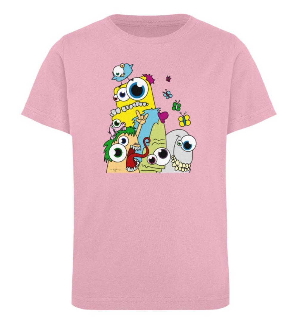 berlin-monster-art-shirt-kids-popart - Kinder Organic T-Shirt-6903