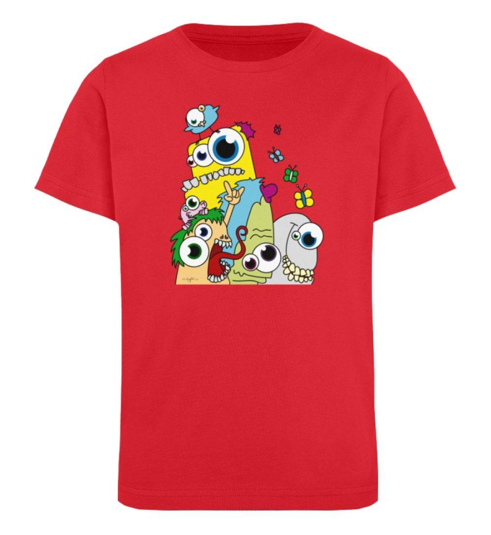 berlin-monster-art-shirt-kids-popart - Kinder Organic T-Shirt-6882