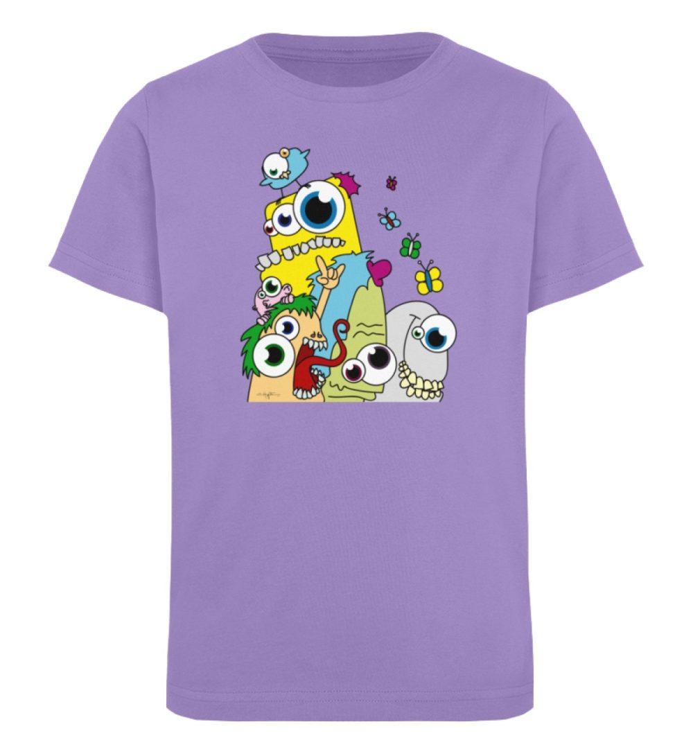 berlin-monster-art-shirt-kids-popart - Kinder Organic T-Shirt-6904
