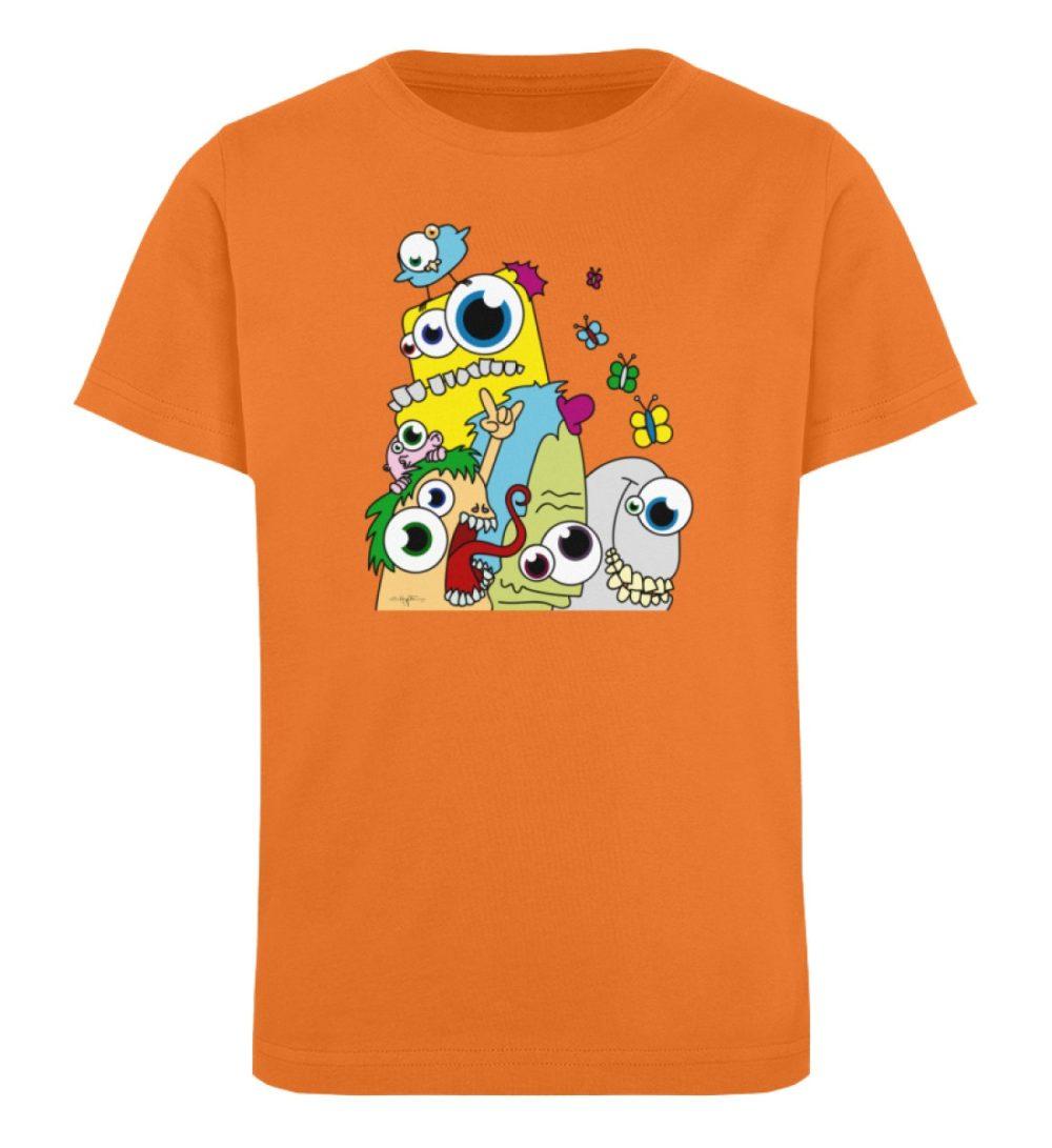 berlin-monster-art-shirt-kids-popart - Kinder Organic T-Shirt-6902