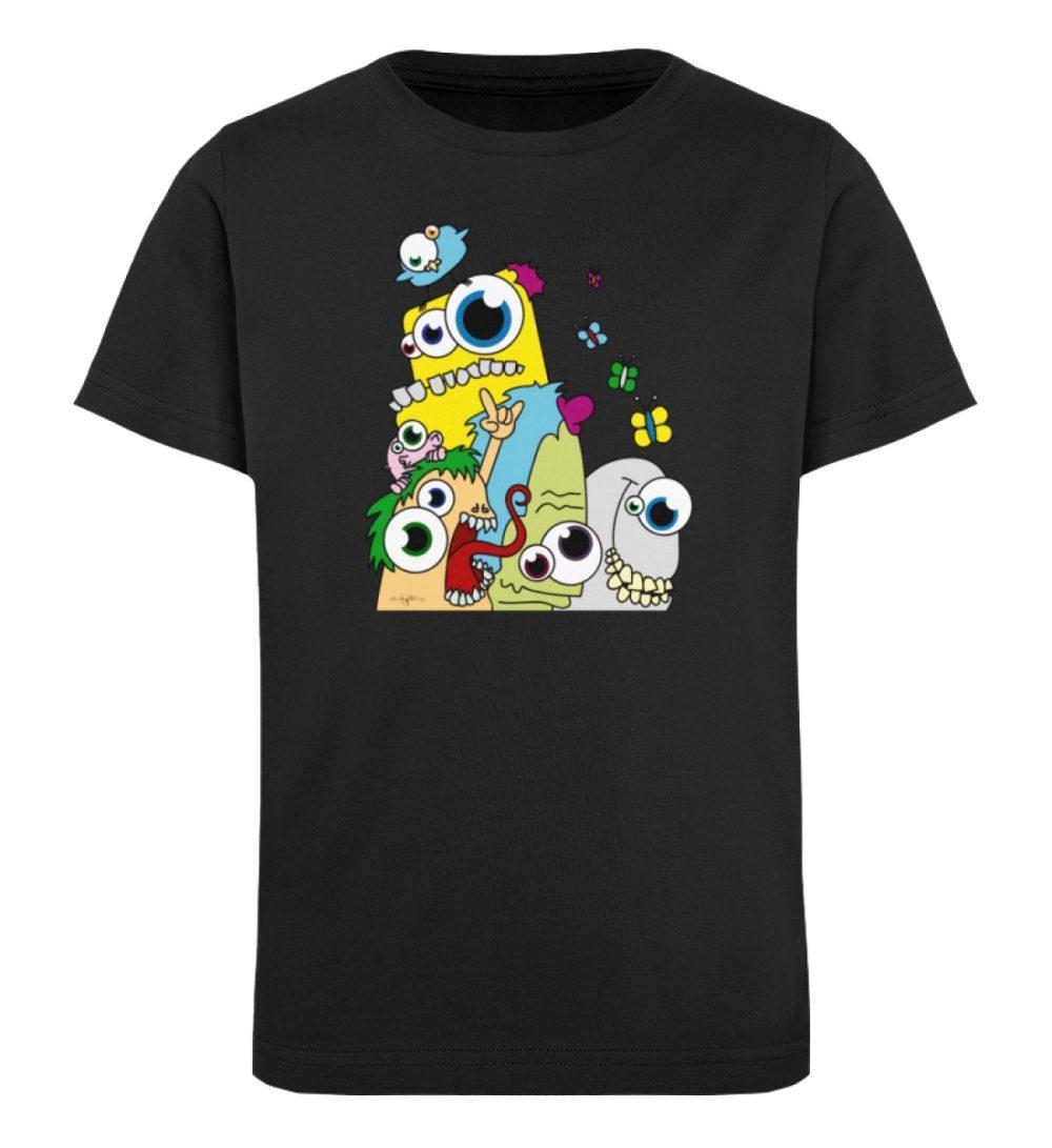 berlin-monster-art-shirt-kids-popart - Kinder Organic T-Shirt-16