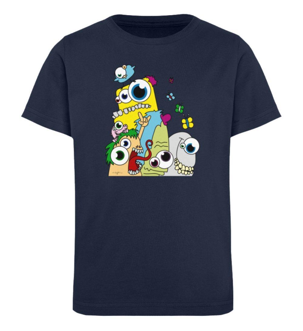 berlin-monster-art-shirt-kids-popart - Kinder Organic T-Shirt-6887
