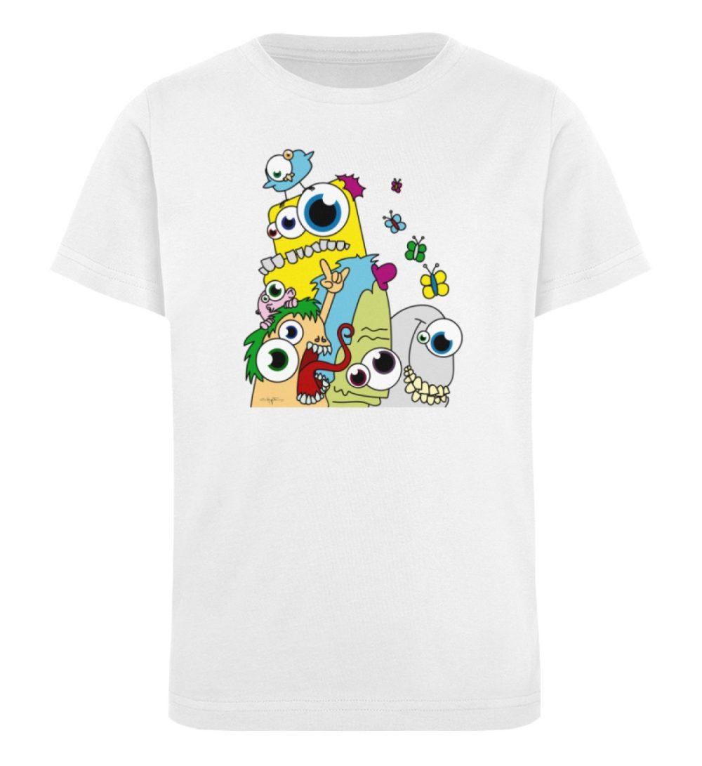 berlin-monster-art-shirt-kids-popart - Kinder Organic T-Shirt-3