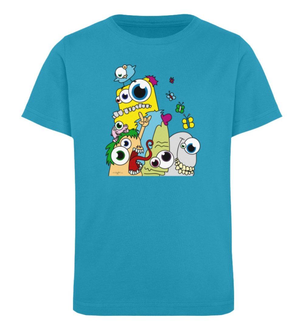 berlin-monster-art-shirt-kids-popart - Kinder Organic T-Shirt-6885