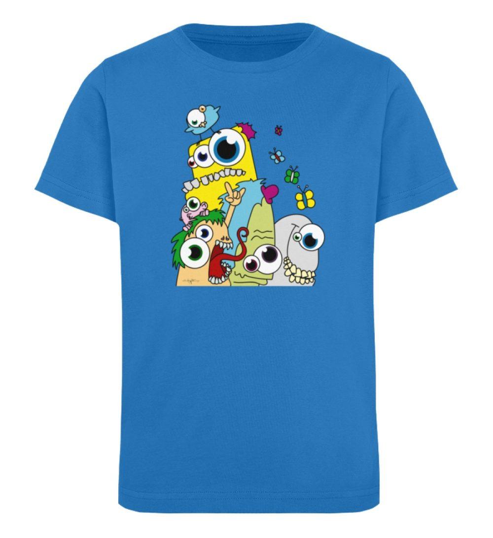 berlin-monster-art-shirt-kids-popart - Kinder Organic T-Shirt-6886
