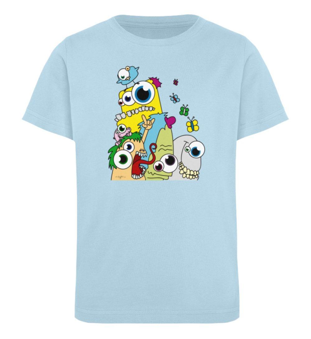 berlin-monster-art-shirt-kids-popart - Kinder Organic T-Shirt-6888