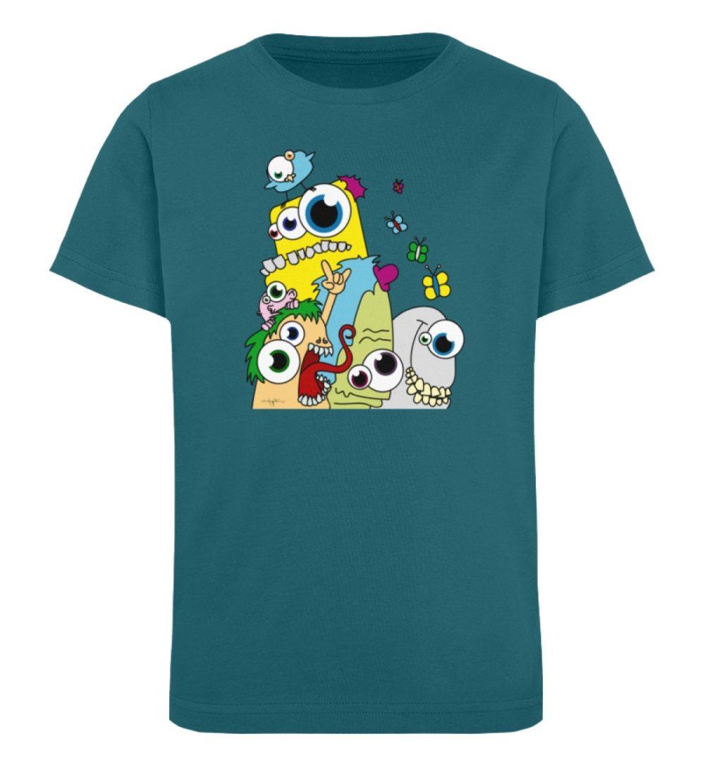 berlin-monster-art-shirt-kids-popart - Kinder Organic T-Shirt-6889